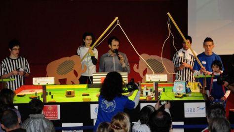 Trophées de robotique 2014 - Cité de l'espace - qualifica