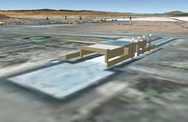 hangar electrostatique