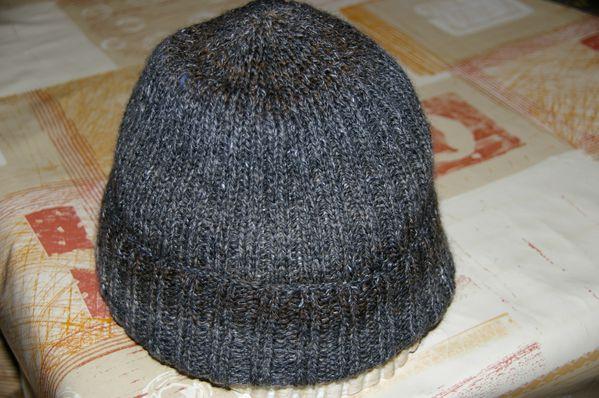 tricot bonnet homme cotes 2 2 tutoriel gratuit