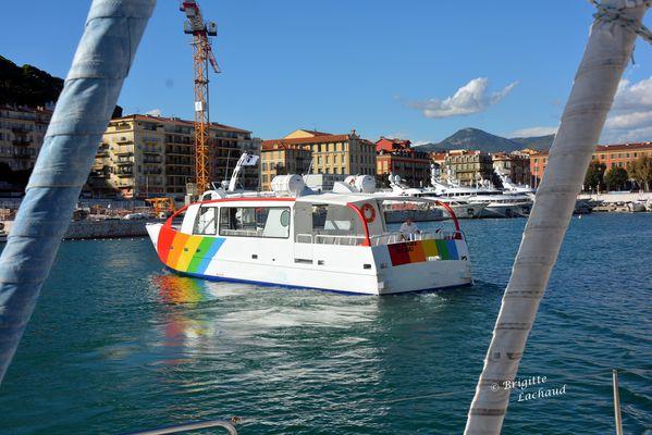 bateaux electrique port de Nice