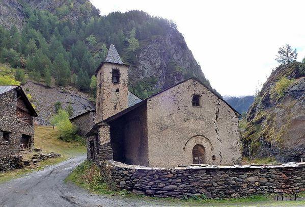 Le Hameau De Tor En Espagne Au Pied DAndorreau Coeur