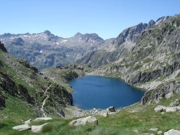 Pyrénées : Lacs de la Cardinquère:Embarrat (2078m)-Pourtet (2420m)-Nère (2309m) 38