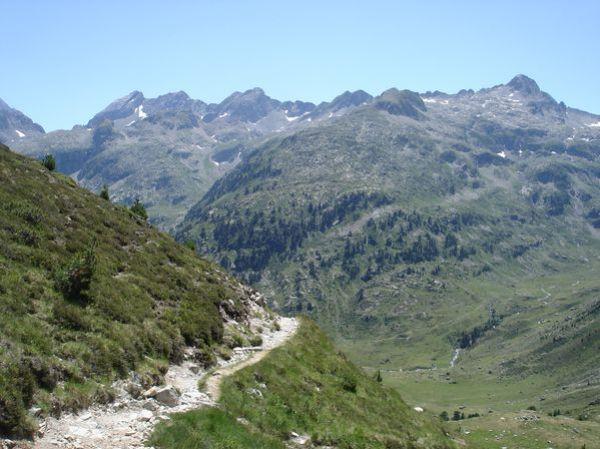 Pyrénées : Lacs de la Cardinquère:Embarrat (2078m)-Pourtet (2420m)-Nère (2309m) 46