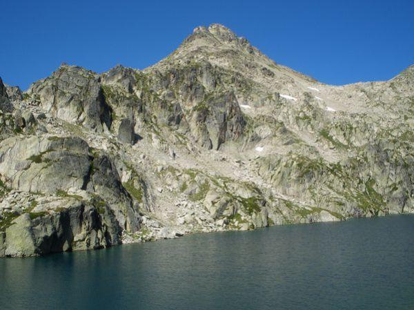 Pyrénées : Lacs de la Cardinquère:Embarrat (2078m)-Pourtet (2420m)-Nère (2309m) 34