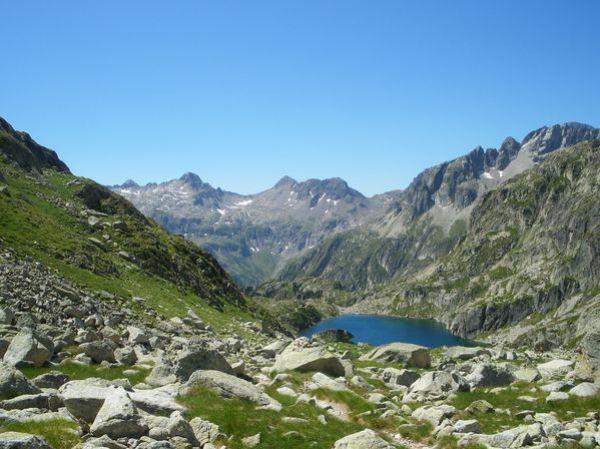 Pyrénées : Lacs de la Cardinquère:Embarrat (2078m)-Pourtet (2420m)-Nère (2309m) 36