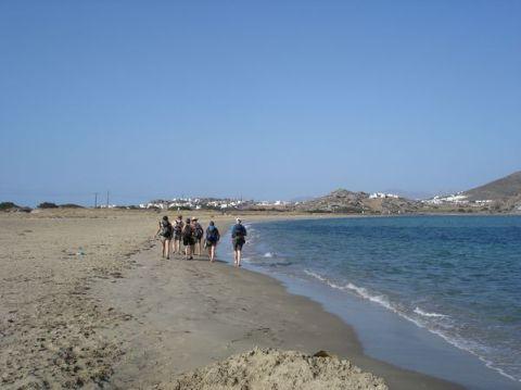 Naxos: Presqu'île de Prokopios et plage d'Agia Anna 5