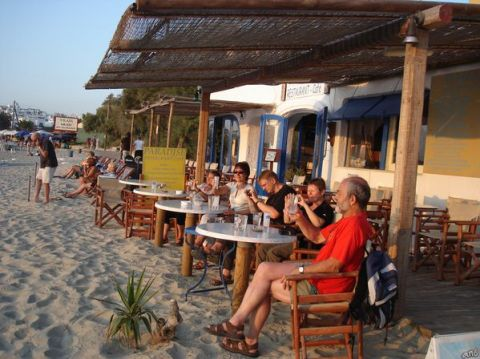 Naxos: Presqu'île de Prokopios et plage d'Agia Anna 23