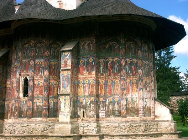 Les premiers monastères orthodoxes peints de Bucovine : Moldovitsa, Sucevita, Solé 1