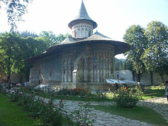 Guide Bucovine : Monastère orthodoxe de Voronet 1