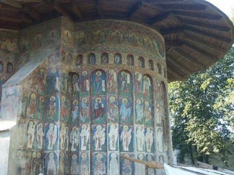 Guide Bucovine : Monastère orthodoxe de Voronet 2