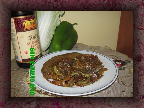 Chou chinois saut okla chahiya - Cuisiner du chou chinois ...