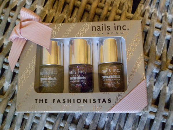 nails inc mini vernis fashionistas