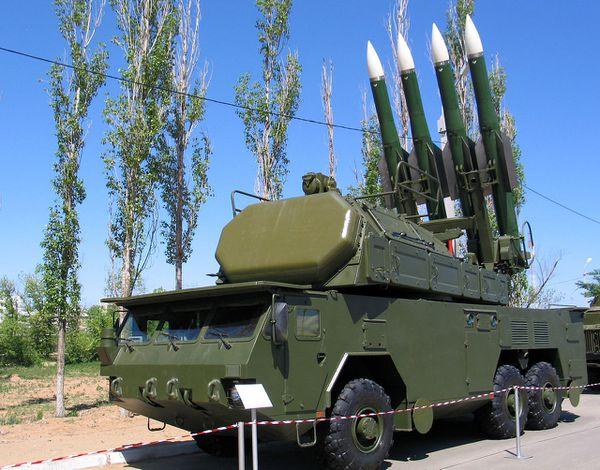 MH 17 - Missile - SAM - Buk - 9K37M1-2 - Missile sol-air - TELAR