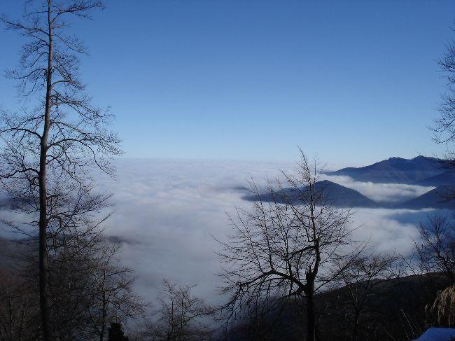 Vers le Pic du Gar : le col des Ares (797 m) 10