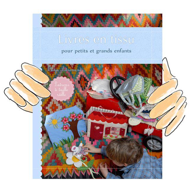 créez des livres en tissu pour les enfants