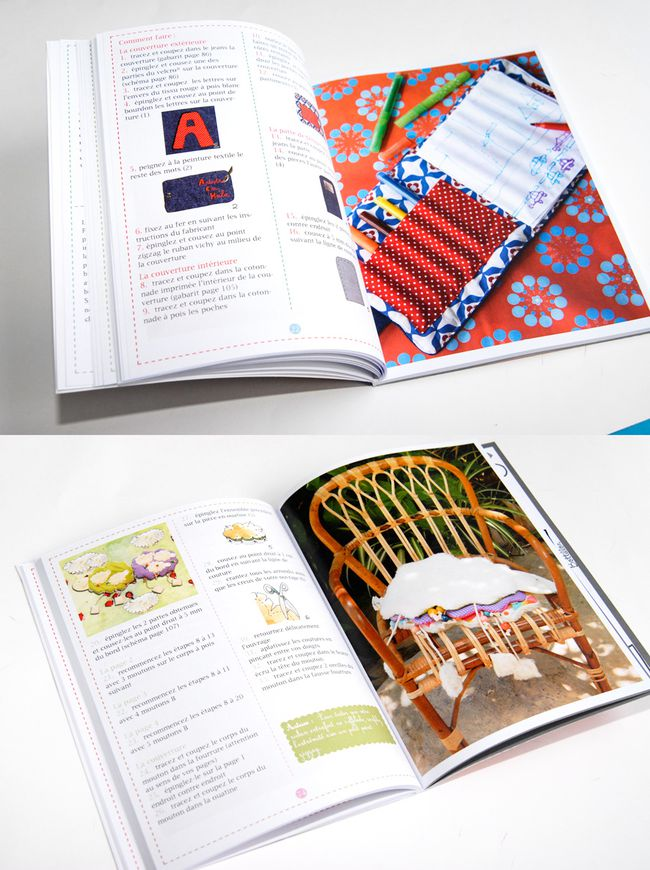 comment faire des livre en tissu pour enfant