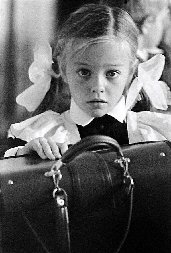 Первоклашка СССР, детство, фотографии