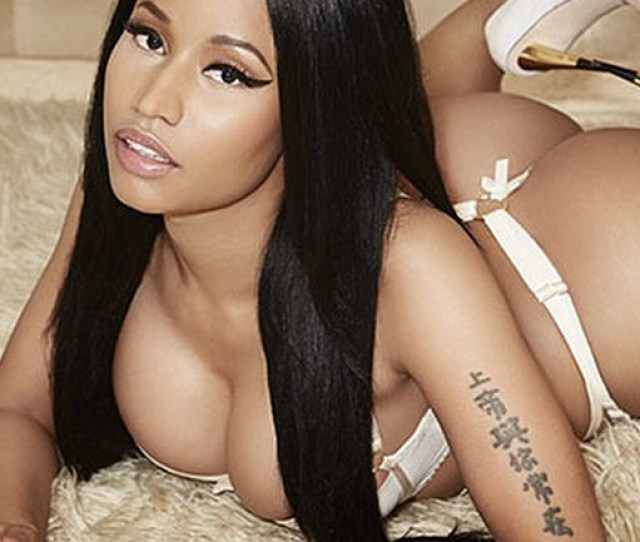 Nicki Minaj Nude Hot Sexy Booty