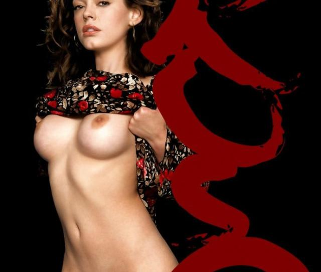 Rose Mcgowan Nude Tits And Shaved Cunt