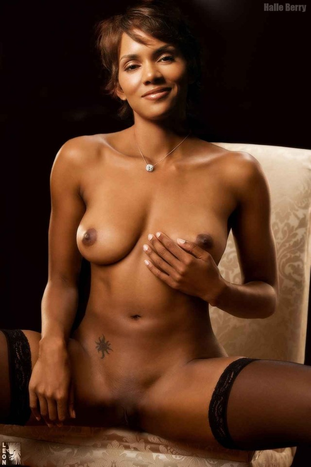 Halle Berry Nude Shaved Pussy