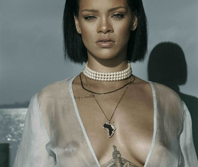 Once Again We Are Able To See Rihanna Nude Tits And That Is Only Happening Because She Wants To Show Them To Us She Should Start Thinking About Always