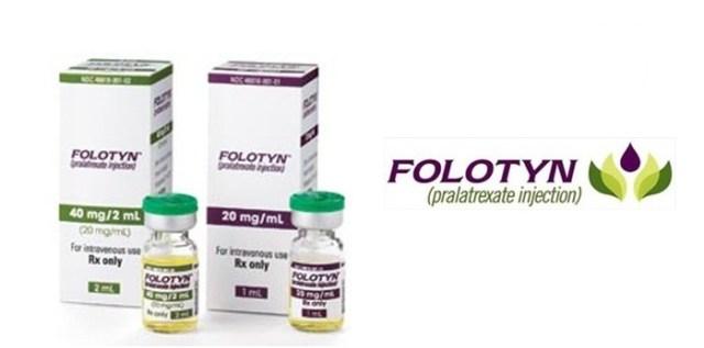 Resultado de imagen para Folotyn medicina