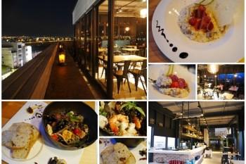 台中逢甲美食 默沏Gallé空中餐廳 義式料理(含菜單)~默砌/默沏,約會好地方