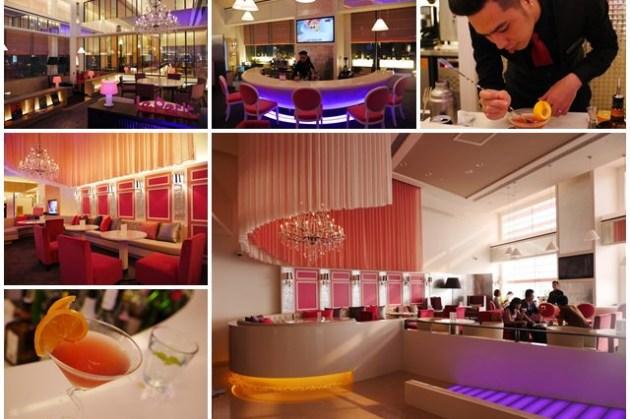 高雄美食 Le Petit餐廳 和逸高雄中山館 下午茶/調酒(內有帥氣調酒師)~粉紅浪漫,白天夜晚一樣美麗
