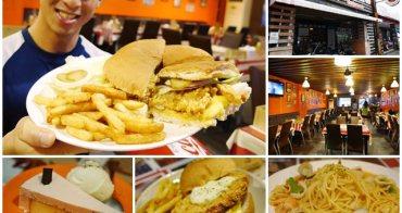 巨無霸雞腿漢堡 Gary Bee 69 美式餐廳 台東美食(含菜單)~免費wifi/有特價CP值高,聚餐好地方