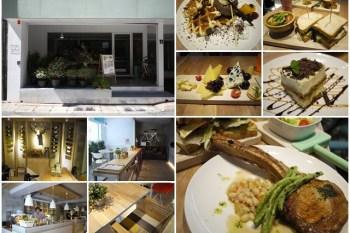 [廣宣]台北大安 Fabrica椅子 輕食設計風餐廳(已歇業)~好拍好吃,巨無霸戰斧豬排