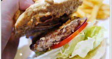中和美食 幸福屋手工漢堡與義大利麵的家(此分店已結束營業)~超值花生醬牛肉堡早午餐