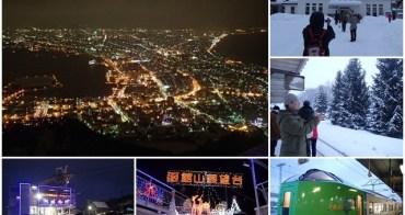 日本 北海道 函館夜景&JR北海道電車體驗~阿一一北海道冬季賞雪之旅