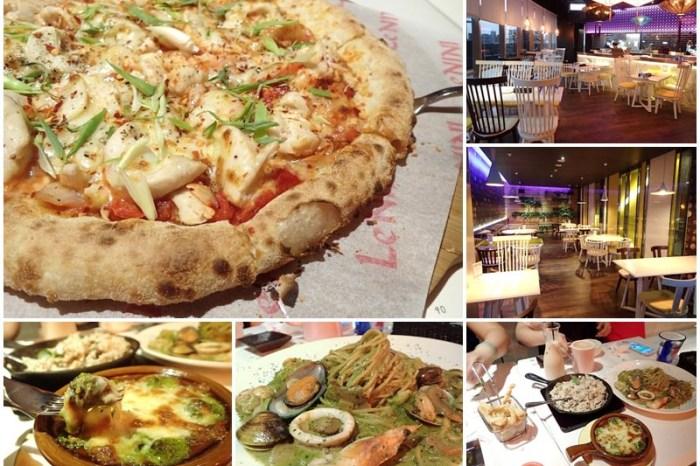 淡水捷運站美食 Le NINI樂尼尼義式餐廳 披薩/義大利麵~大份量聚餐好選擇