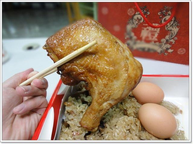 臺北三芝 武雄油飯店~雞汁流竄的大支雞腿 - 阿一一之食意旅遊