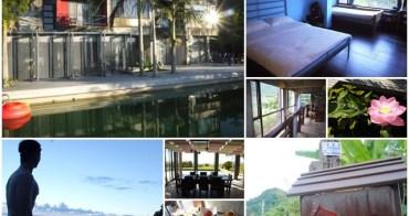 台東長濱 余水知歡民宿 Yujoy House 被綠意擁抱的樂園~阿一一炎夏台東熱汽球之旅