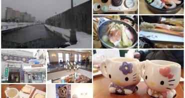 日本北海道 小樽運河&銀之鐘咖啡館下午茶~阿一一北海道冬季賞雪之旅