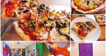 台東美食 披薩阿伯Uncle Pete's Pizza~超過癮現做14吋披薩,雙口味隨意配