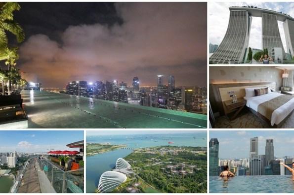 新加坡金沙酒店 無邊際泳池日夜景攻略~新加坡必住飯店,飽覽濱海灣與城市美景