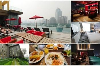 曼谷高空酒吧飯店 Novotel Bangkok Sukhumvit 4~高空酒吧無邊際泳池,平價近BTS交通方便