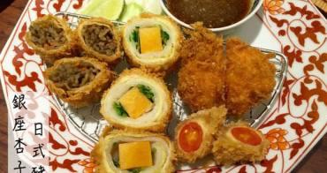 [台南]中西區 第一名的炸豬排 銀座杏子日式豬排-新光三越西門店B2美食街