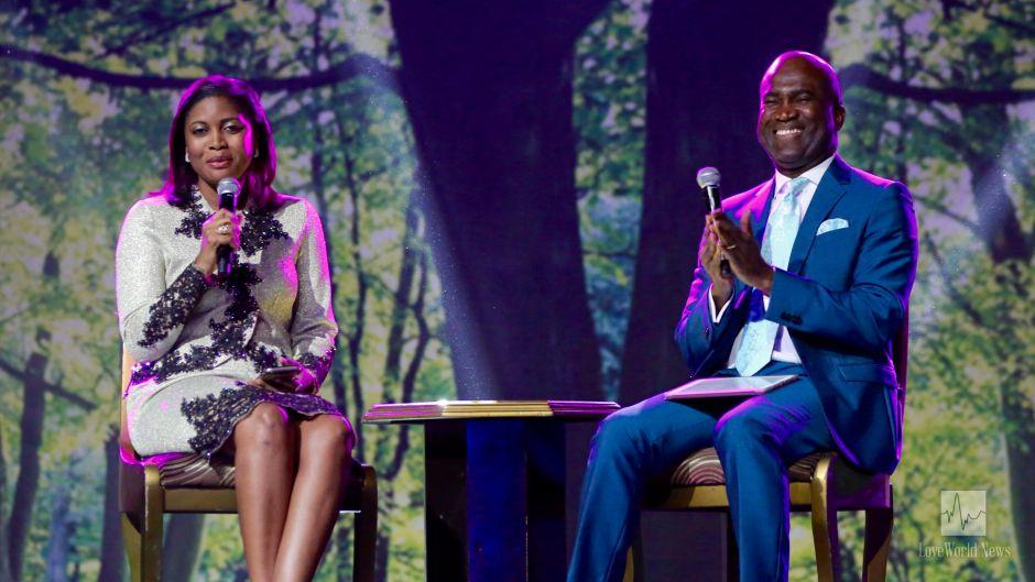 Pastor Lanry Alabi and Pastor Deola Philips