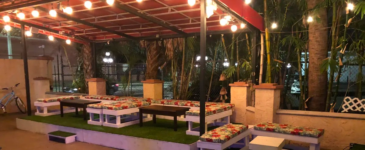 biggest patio for events in ybor city