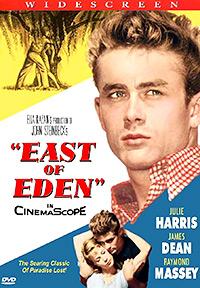 Cartel de la película Al este del Edén