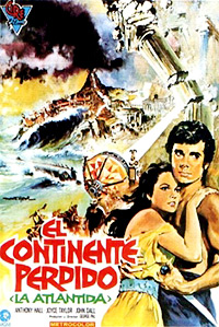 Cartel de la película Atlantida: El continente perdido