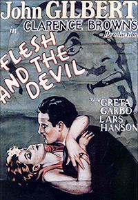 Cartel de la película El demonio y la carne