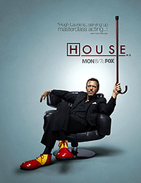 Cartel de la serie House