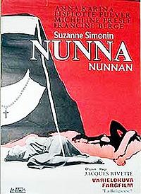Cartel de la película La religiosa