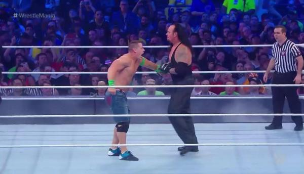 Wrestlemania 34: 'The Undertaker' amplió su racha de ...