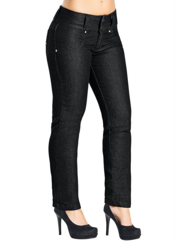 Calça Jeans Skinny Feminina (Preta)