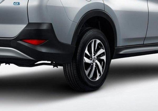 Toyota Rush 2018 wheel